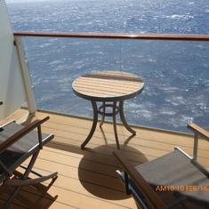Cabin 7190 Balcony