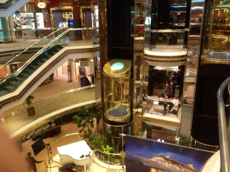 A view of the center where all the shops are - Majesty of the Seas