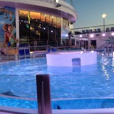 Quantum of the Seas Hot Tub
