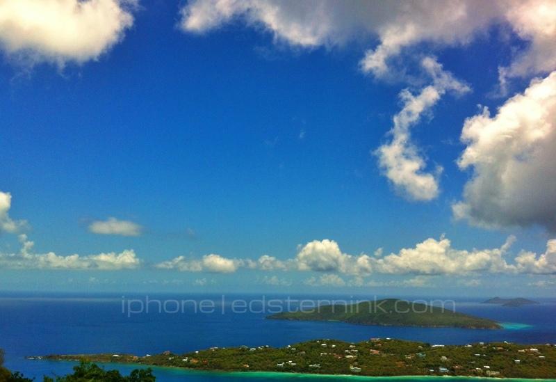 St. Thomas; St. Peter Mountain (Signal Hill) - Carnival Splendor