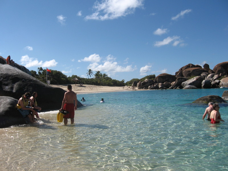 The Baths, Virgin Gorda - Norwegian Spirit