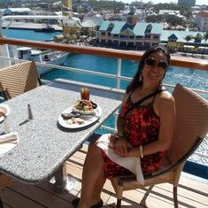 Nassau, Bahamas - getting ready to go ashore