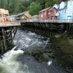 Ketchikan, Alaska - Creek Street, Ketchikan