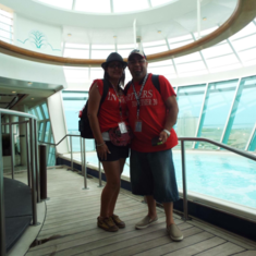 Sports Pool on Freedom of the Seas