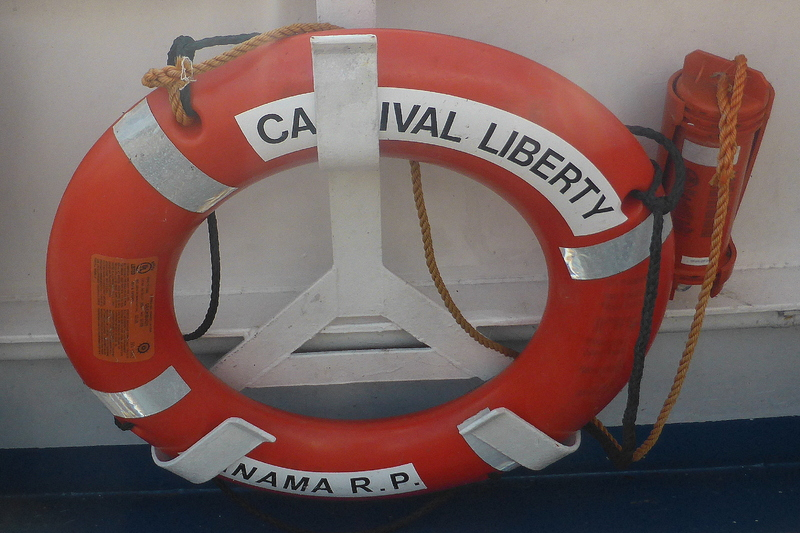 Ship Life Preserver - Carnival Liberty