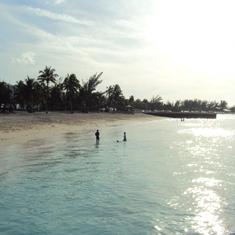 Junkanoo Beach; Nassau Bahamas