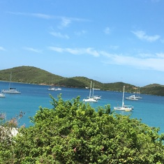 West side of Tortola