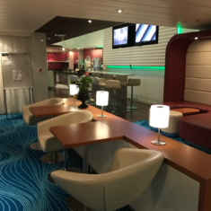 The Epic Club Lounge on Norwegian Epic