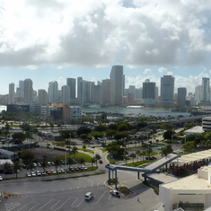 View of Port and Ft Lauderdale