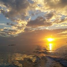 San Juan, Puerto Rico - Sunset