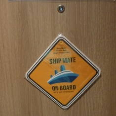 decoration on my stateroom door