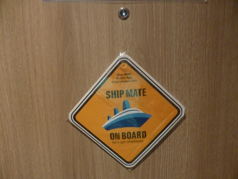 decoration on my stateroom door - Koningsdam
