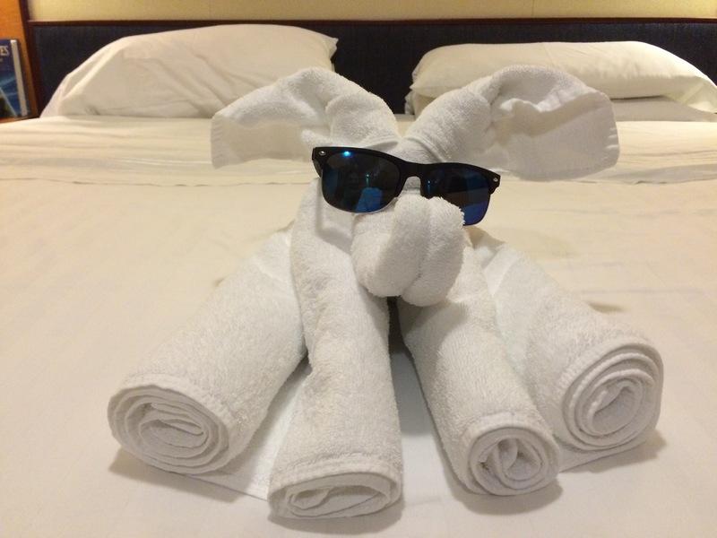 Towel animals - Serenade of the Seas