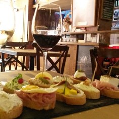 Vineria all'Amarone wine bar, Venice, Italy