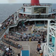 Top deck is popular