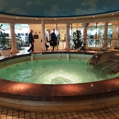 Thallassotherapy Pool in the Spa