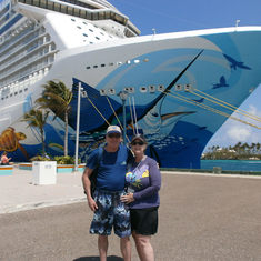 Kurt & Jane - the NCL Escape in Nassau