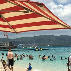 The beaches of Docs Cove in Montego Bay