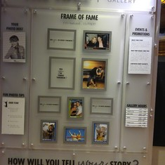 Make sure you check out the Wall of Fame
