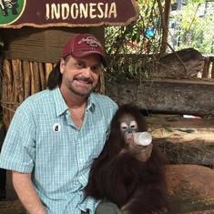 Orangutan Taman Safari Park.