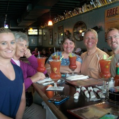 Anchorage, Alaska - At Humpy's in Anchorage – love the Bloody Mary Bar and halibut tacos
