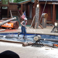 Ketchikan, Alaska - Lumberjack Show Ketchikan