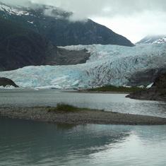 Juneau, Alaska - Mendenhall Glacier Juneau