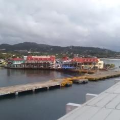 Docking in Roatan