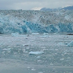 The majestic Hubbard Glacier