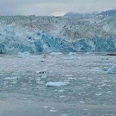Hubbard Glacier, Alaska - The majestic Hubbard Glacier