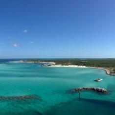 Castaway Cay (Disney Private Island) - Castaway Cay lagoon