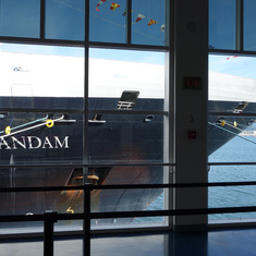 Vancouver (Canada Place), British Columbia - HAL's Zaandam at Canada Place, Cruise Port, Vancouver, B.C. May 2014