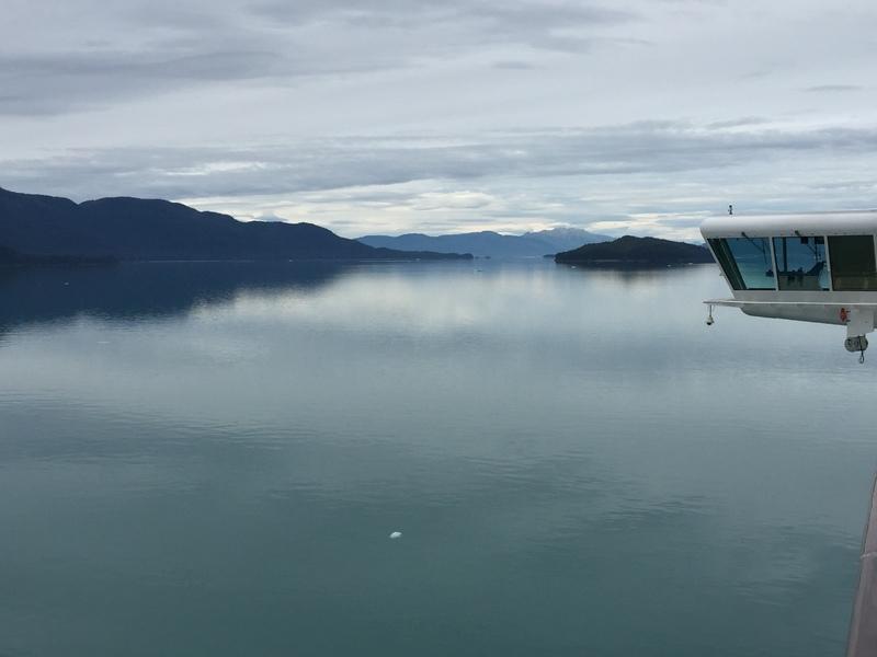 Cruise Tracy Arm Fjord, Alaska - scenery from Balcony