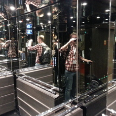 Mirrors may create space, but they can also induce headaches.