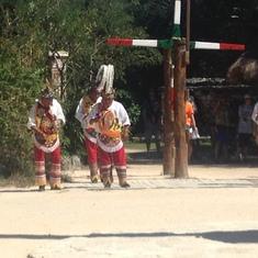 Dancers at Xcaret in Cozumel