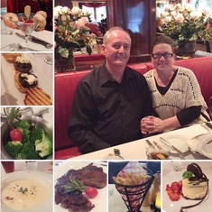Cagney's Steakhouse- one of our favorites!