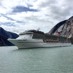 Cruise Tracy Arm Fjord, Alaska - Carnival Legend