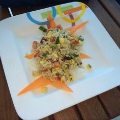 Quinoa at Aqua Spa Cafe