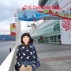 The Canada Trail, Canada Place, Cruise Port, Vancouver, B.C.