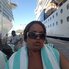 Philipsburg, St. Maarten - I love Maho beach