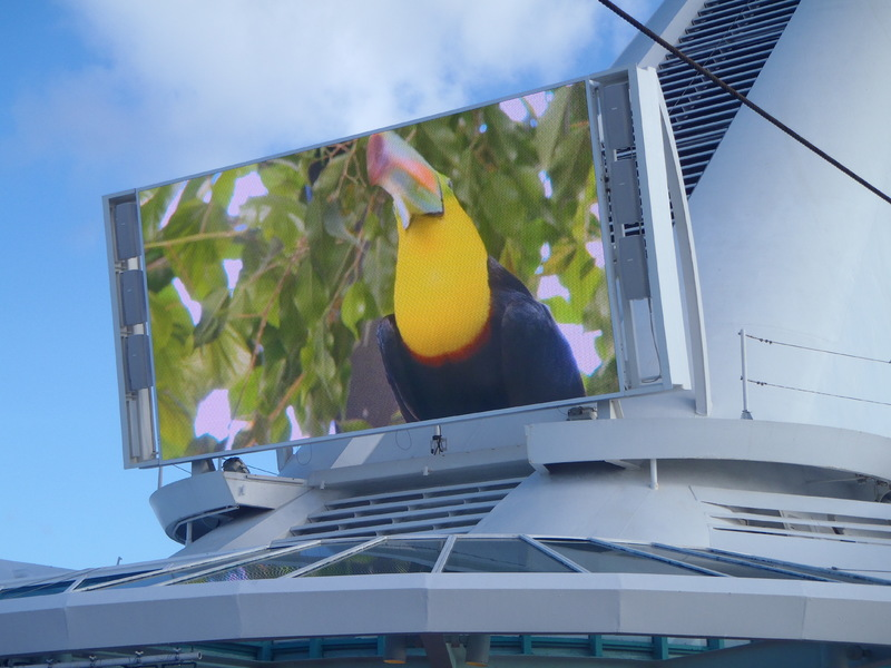 movie screen - Empress of the Seas