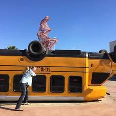 They drive crazy in Ensenada