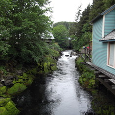 Ketchikan, Alaska - Creek Street Ketchikan