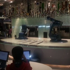 Robotic Bar Tenders