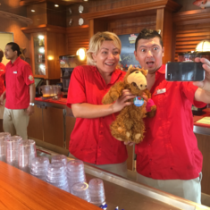 Redfrog Rum Bar on Carnival Vista