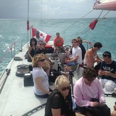 Philipsburg, St. Maarten - America's Cup Sailing Regatta