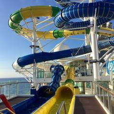 New waterslides on the ship