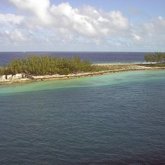 A Barrier Island near Nassau