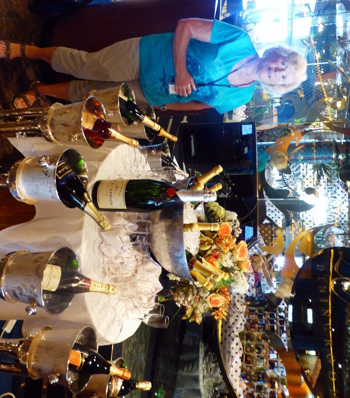 Buckets of champagne - Amsterdam