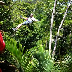 Mahogany Bay, Roatan, Bay Islands, Honduras - Roatan, Honduras Ziplinning
